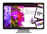 The Graphic Garden Design Studio - Flowers For You Website