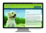 Memory Castings Pets Website by The Graphic Garden Design Studio