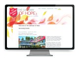 The Graphic Garden Design Studio - Salvation Army The Gateway of Hope Website