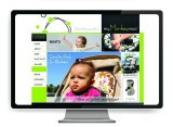 myMonkeymoo website design by The Graphic Garden Design Studio